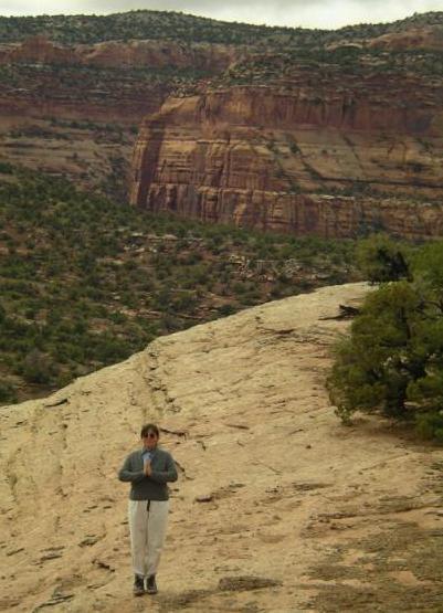 Canyonlands yogini